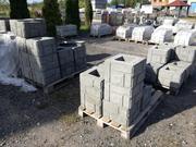 Заборный блок для столбов